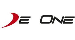 DeOne_logo_biale_tlo